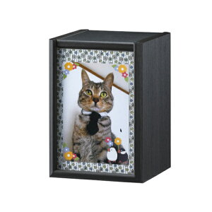 ペット仏壇(ペットメモリアルボックス) 3寸 骨壷収納 仏壇 犬 猫 ペット用 供養 木製(代引不可)【送料無料】