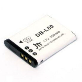 日本トラストテクノロジー デジタルカメラ 互換バッテリー SANYO対応 MBH-DB-L80 (代引き不可)