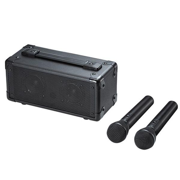 サンワサプライ ワイヤレスマイク付き拡声器スピーカー MM-SPAMP7【送料無料】