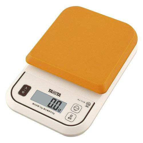 デジタルクッキングスケール オレンジ 雑貨 ホビー インテリア 雑貨 雑貨品