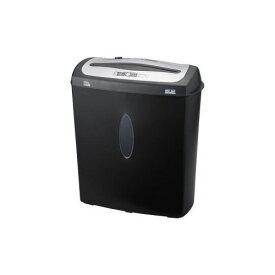 ナカバヤシ クロスカットシュレッダー (A4サイズ CD・DVD・カードカット対応) NSE-207BK(代引不可)【送料無料】