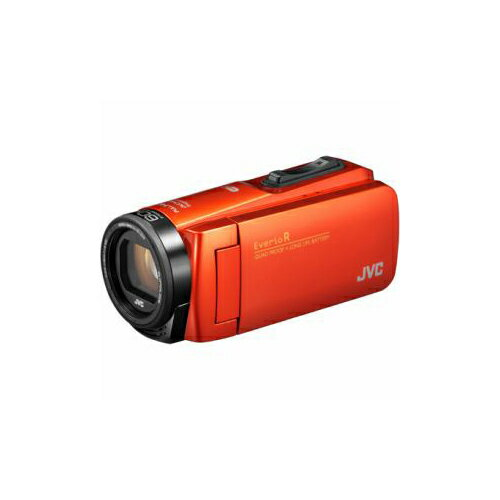 JVCケンウッド ハイビジョンメモリービデオカメラ 「Everio(エブリオ) Rシリーズ」 64GB ブラッドオレンジ GZ-RX680-D(代引不可)【送料無料】【smtb-f】