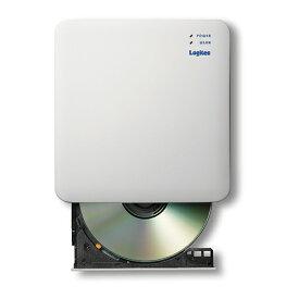 エレコム WiFi対応CD録音ドライブ/5GHz/iOS_Android対応/USB3.0/ホワイト LDR-PS5GWU3RWH(代引不可)【送料無料】