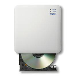エレコム WiFi対応CD録音ドライブ/2.4GHz/iOS_Android対応/USB3.0/ホワイト LDR-PS24GWU3RWH(代引不可)【送料無料】