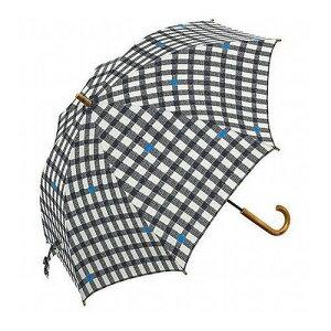 mikuni ミクニ 長傘 Umbrella ギンガム ブラック 60cm GG-04991 傘 雨傘 梅雨 雨 カサ おしゃれ(代引不可)