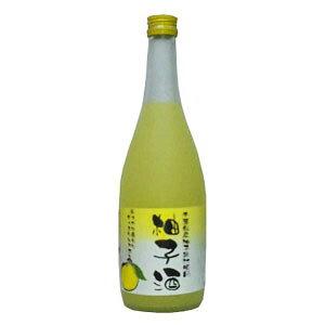 和蔵酒造 千葉県産 柚子果汁 柚子酒 720ml(代引き不可)
