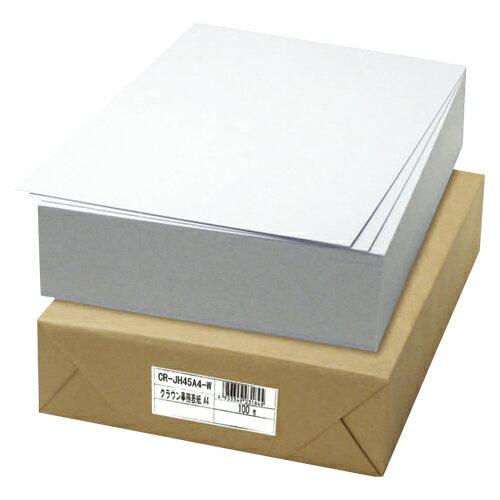 クラウン 板目表紙 A4 白 100枚 1 束 CR-JH45A4-W 文房具 オフィス 用品
