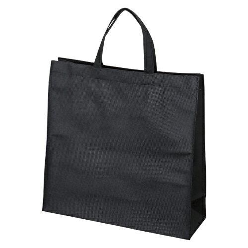 サンナップ 不織布バッグ 小 マチ付き 10枚 ブラック 1 パック FBH-33BK 文房具 オフィス 用品