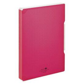 LIHIT LAB AQUA DROPs ファイルケース A4 赤 1冊