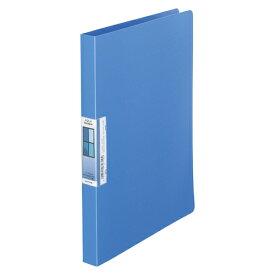 LIHIT LAB AQUA Window パンチレスファイル A4 青 1冊