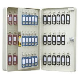 カール事務器 キーボックス コンパクトタイプ 68個収納 アイボリー CKB-C68-I 1個