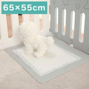 抗菌 ペットシーツマット 65×55cm 完全防水 ペットシーツ 犬 猫 ペットマット 滑り止め 拭ける 水洗い可能 床 保護 トイレ(代引不可)【送料無料】