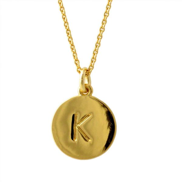 Kate Spade(ケイトスペード) WBRU7653-711 Gold one in a million イニシャル 「K」 ペンダント ネックレス【代引不可】