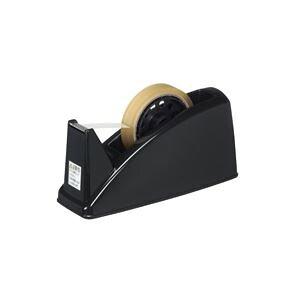 (まとめ買い)プラス テープカッター TC-101E ブラック 【×10セット】