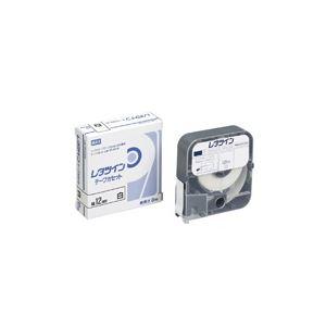 (まとめ買い)マックス レタツインテープ LM-TP312W 白 12mm×12m 【×6セット】