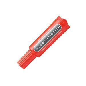 (まとめ買い)三菱鉛筆 ホワイトボードマーカー PWB7M15 太赤 【×20セット】