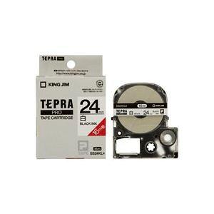 (業務用20セット) キングジム テプラ PROテープ/ラベルライター用テープ 【24mm】 ロングタイプ SS24KL ホワイト(白) ×20セット