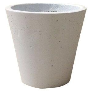 軽量コンクリート製植木鉢フォリオソリッドホワイト43cm【送料無料】