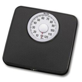 TANITA タニタ シンプル体重計/ヘルスメーター 【アナログ】 ブラック(黒) 最小表示:1kg【代引不可】