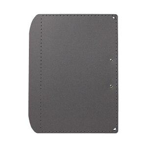 (まとめ)プラス おりたためるA3クリップボード+ Dグレー(×20セット)
