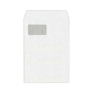 ハート 透けない封筒 ケント グラシン窓A4 XEP732 1セット(500枚:100枚×5パック)