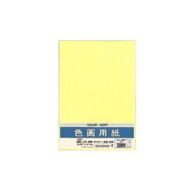 (まとめ) マルアイ 色画用紙 八ツ切 クリームPエ-N82C 1パック(10枚) 【×30セット】
