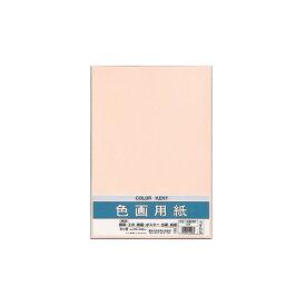 (まとめ) マルアイ 色画用紙 八ツ切 うすももPエ-N82RP 1パック(10枚) 【×30セット】