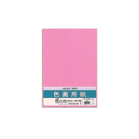(まとめ) マルアイ 色画用紙 八ツ切 ももPエ-N83P 1パック(10枚) 【×30セット】