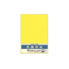(まとめ) マルアイ 色画用紙 八ツ切 レモンPエ-N85LY 1パック(10枚) 【×30セット】