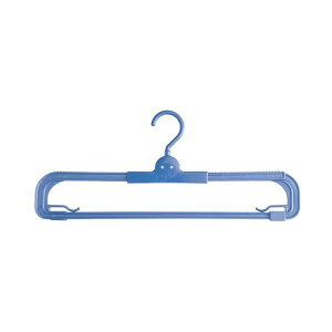 (まとめ)スライド タオルハンガー (洗濯ハンガー 室内物干し) 【60個セット】【ポイント10倍】