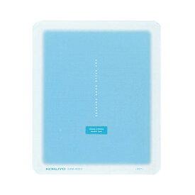 (まとめ)コクヨ マウスパッド コロレー ブルーEAM-PD50B 1枚【×5セット】