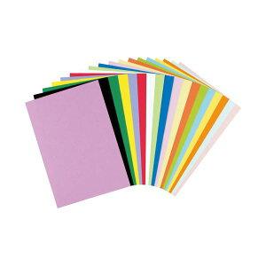 (まとめ)リンテック 色画用紙R 8ツ切 10枚 ひまわり 318【×100セット】