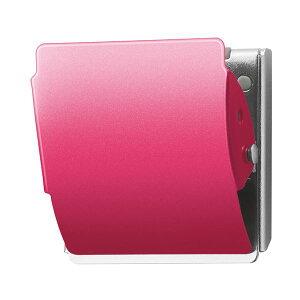 (まとめ) プラス マグネットクリップ ホールド Lピンク CP-047MCR 1個 【×10セット】