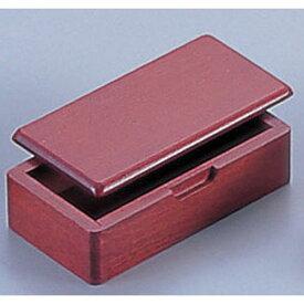ヤマコー 木製 蓋付楊枝入 15252(ブラウン) PYC40