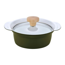 和平フレイズ ポットデクックIH対応卓上鍋 両手鍋 16cm G RB-1275 グリーン 鍋 なべ 両手鍋 キッチン用品