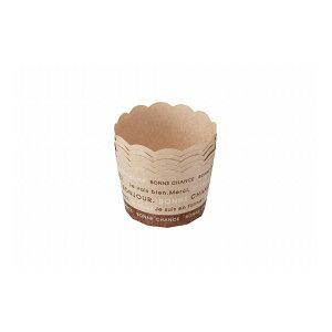 貝印 KaiHouse SELECT 紙製ミニマフィンカップ ブラウン5枚入 DL6178