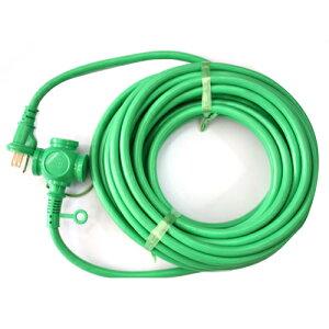 KOWA・デカ太延長コード‐3芯10M・DC310S‐グリーン 電動工具:電工ドラム・コード:延長コード2