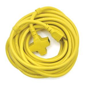 E−Value・ラバロン延長コード‐イエロー・NC-1‐10M 電動工具:電工ドラム・コード:延長コード2
