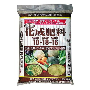 GS 高度化成肥料10-18-16 5kg