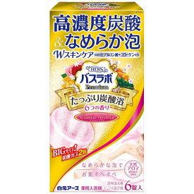 白元アース HERSバスラボプレミアムたっぷり炭酸浴クラシックアロマ6錠入 6個 入浴剤/炭酸ガス/炭酸ガス(代引不可)