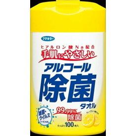 フマキラー フマキラー アルコール除菌タオル 100枚 家庭紙 ウェットティッシュ ウェットティッシュ(代引不可)