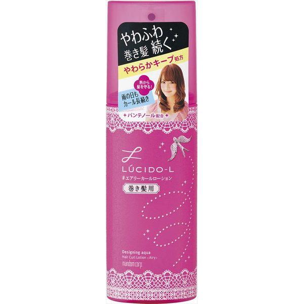 マンダム ルシードエル デザイニングアクア #エアリーカールローション (巻き髪用) 180ML 化粧品 女性頭髪 スタイリング剤(代引不可)