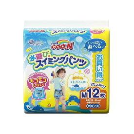 大王製紙 グ~ン スイミングパンツ Mサイズ12枚男の子(代引不可)