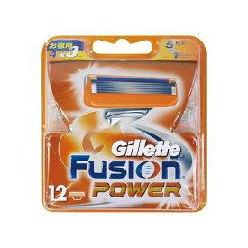 P&Gジャパン ジレット フュージョン5+1パワー替刃12B(代引不可)