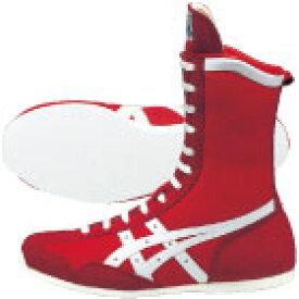 アシックス ボクシングシューズ ボクシングMS TBX704 レッド×ホワイト(2301)