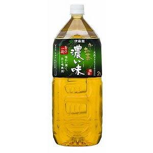伊藤園 お〜いお茶 濃い味 2L×6本 1ケース おーいお茶(代引き不可)