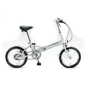 マイパラス 自転車 折りたたみ MyPallas/マイパラス 折りたたみ自転車16インチ M-101(代引き不可)【送料無料】