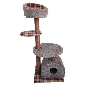 キャットタワー ねこ 猫 猫タワー ネコタワー 置き型 ペットタワー ペットハウス 猫ハウス 爪とぎ 玩具 おもちゃ おしゃれ(代引不可)【送料無料】