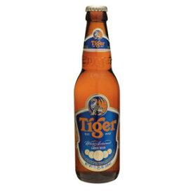 シンガポール タイガービール 瓶 輸入ビール 330ml×24本【送料無料】