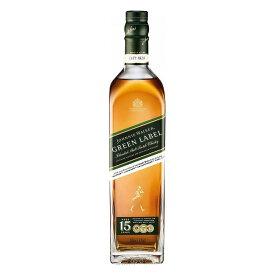 ジョニーウォーカー グリーン 15年 ウイスキー類 イギリス産 700ml×1本 43度 【単品】【送料無料】